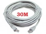30M CAT5e RJ45 ETHERNET LAN NETWORK PATCH LEAD CABLE (other lengths available) £2.69 @ ebay/universalgadgets01