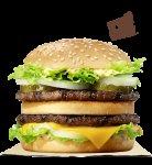 Burger King: BK King or BK King chicken £1.49