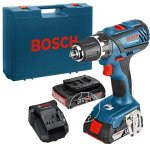 Bosch Blue Professional 18v Combi Drill, 2 batteries & case with 3 year warranty £89.99 @ Screwfix
