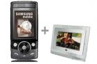 Samsung G600 with Kitvision 7 inch digital photo frame £100 Delivered @ Vodaphone