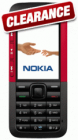 Nokia 5310 Xpress Music (Clearance) - now reduced FURTHER to £44.95 delivered when you buy £10 airtime on T-Mobile PAYG @e2save!!