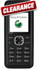 Sony Ericsson J132 Black (Clearance) - now just £3.95 delivered when you buy £10 airtime on Virgin Mobile PAYG @ e2save!!