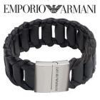 Emporio Armani Leather Bracelet £58 @ MinistryofDeals