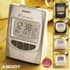 Ascot Radio-Controlled Alarm Clock - 4.86 @Aldi