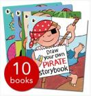 Draw Your Own Storybook Collection - 10 Books £9.99 delivered @ The Book People