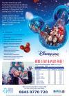 2 nights B&B & 3 days Disneyland Paris park entry from £95 per adult