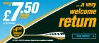 Translink. Belfast - Dublin return. £7.50 web fare