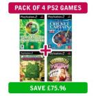 4 x PS2 games (Ultimate Sports Quiz, Cricket Captain 3, Playwize poker and Aqua Teen) ONLY £4 delivered @MoD
