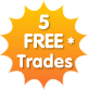 5 free trades in January and now till the end of February @ Playtrade