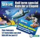 National Sea Life Birmingham Kids for just a Squid