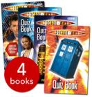 Doctor Who Quiz Collection(4 Books) £2.69 delivered with vouchers @ The Book People