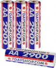 Rechargeable Battery - AA Size (2900mAh) - Pack of 4 in FREE Case £4.99 @ 7DAYSHOP