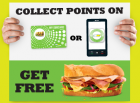 SUBCARD - Subway loyalty cards - for your wallet or as App