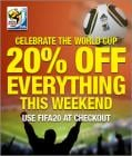 20% Off World Cup Kick-Off at MyMemory this weekend only!