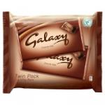 Twin pack of Galaxy (2 X 125g bars) £1 instore at Somerfields