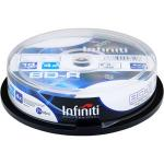Infiniti (Blu-ray) Inkjet Printable BD-R 25GB 4x Speed (Tub Of 10) - £10.99 Delivered! (7dayshop)