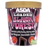 Asda Loaded Black Forest ice cream 480ml 50p/tub usually £2.47 @ Asda instore