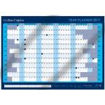 Laminated Collins Colplan 2011 A1 Year Wall Planner - half price - £4.88 delivered @ Amazon