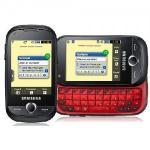 Tesco Mobile Samsung Genio Slide mobile phone Black £89.97 plus £20 free top-up