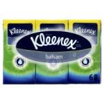 Kleenex Balsam 6 Pack Pocket Tissues £1 at Wilkinson and 2 for £2 at Tesco