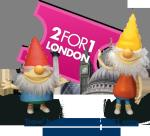 2 for 1 Offers When You Travel by Train