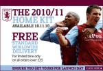 4 Adult Premier League Tickets for £10 each (plus £2 booking) @ Aston Villa