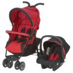 Petite Star City Bug Buggy and car seat in red £59.99 @ Nursery value