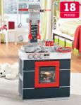 Play Kitchen - 18 Pieces £19.99 @ Lidl