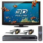 PANASONIC TXP42GT20B 3D + 2 Pairs of 3D Glasses + 3D BluRay Player + 5 Yrs Warranty at Hiway Hifi