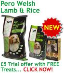 Pero Welsh Lamb and Rice Trial Offer £5 @ Pero Petfood
