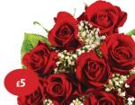 Classic Valentine's gift with a beautiful bouquet at your local Morrisons from 11th February