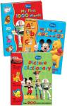 Disney My First dictionary, 1000 words and abc/123 book set £5.99 @ Books Direct Bargains