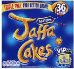 24 pack Jacob's Club Biscuits £1.64, 27 Pack McVitie's Penguin's £1.64 and Triple Pack 36 Jaffa Cakes £1.44 @ Tesco