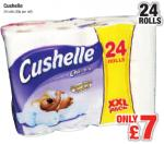 Cushelle/Charmin 24 roll pack £7 @ Netto