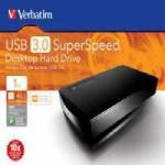 Verbatim USB 3.0 Desktop Hard Drive 1TB @ UKDVDR - £61.99