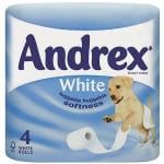 Andrex® White Toilet Tissue 4 Roll (10 Pack) THAT'S £1.84 PER PACK OF 4 DELIVERED@ Amazon