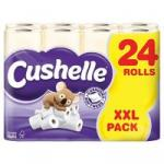 Cushelle Bathroom Tissue Honey 24 Roll Buy 1 get 1 Free £10.50+VAT@ Makro