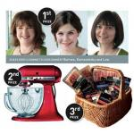 win dinner party for 10, food mixer,hamper,various