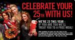 Free Meal in TGi Fridays this weekend  if you were born in 1986