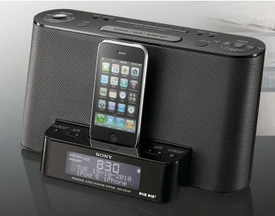 sony xdr ds12ip dab docking iphone ipod alarm clock radio argos hotukdeals. Black Bedroom Furniture Sets. Home Design Ideas