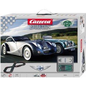 carrera evolution morgan 1 32 scale slot car set. Black Bedroom Furniture Sets. Home Design Ideas