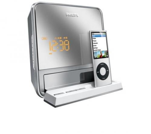philips dc190 ipod docking station and radio alarm clock currys pcworld hotukdeals. Black Bedroom Furniture Sets. Home Design Ideas