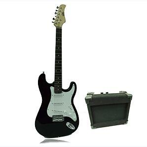 adult electric guitar and amp comes with replacement strings case and straps etc 60 asda. Black Bedroom Furniture Sets. Home Design Ideas