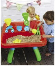 Elc sand water table debenhams in store only for Elc paddling pool