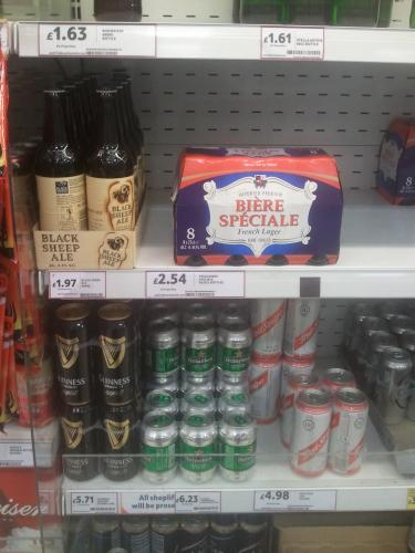 Tesco deals on tennents lager