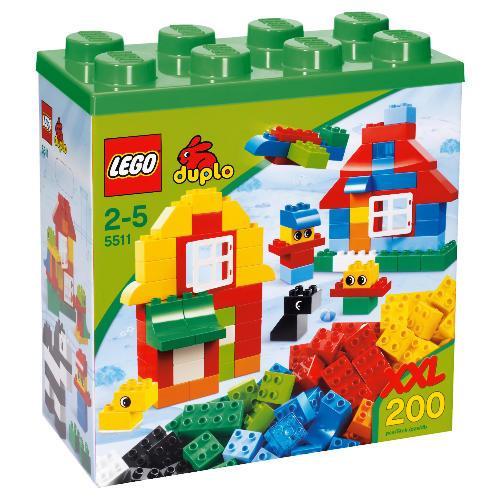 duplo xxl box of 200 bricks half price tesco. Black Bedroom Furniture Sets. Home Design Ideas