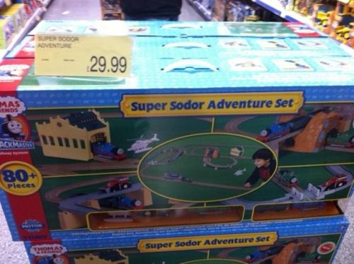 Half Price Thomas Amp Friends Super Sodor Adventure Set 163
