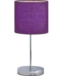 Colour Match Stick Table Lamp Purple Fizz Only