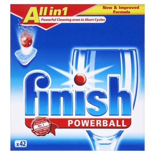 Finish 42 Powerball All In One Dishwasher Tablets 163 3 00