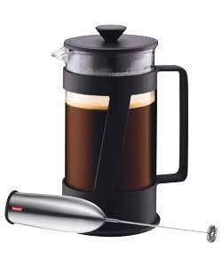BODUM 8 CUP CREMA COFFEE MAKER AND FROTHER ?8.98 DEL @ ARGOS EBAY - HotUKDeals